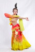 女士古典舞服装206