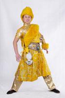 男士藏族舞蹈服装01
