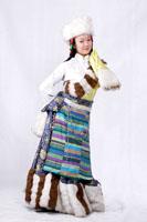 女士藏族服装056