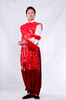 男士汉族舞蹈服装12