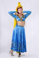 女士新疆服装89