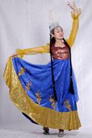 女士新疆服装056
