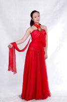 女士现代舞服装489