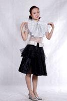 透明现代舞服装754