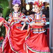 墨西哥舞蹈演出分享