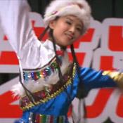 相恋十年藏族舞蹈服装芭菲提供