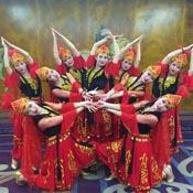 美丽的新疆舞蹈