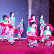 汉族民族舞蹈服装