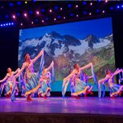 藏族舞客照