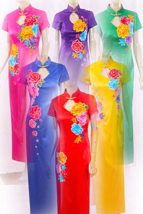 礼仪 旗袍